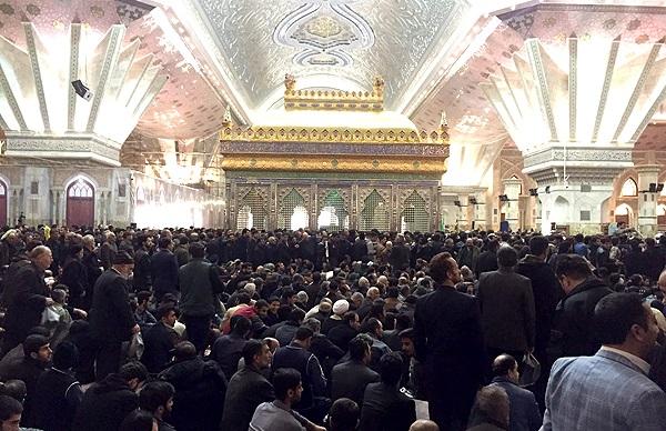 مراسم تشییع پیکر آیتالله هاشمی رفسنجانی/ اقامه نماز توسط رهبری