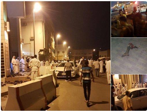 انفجار در نزدیک حرم رسول اکرم و قطیف عربستان