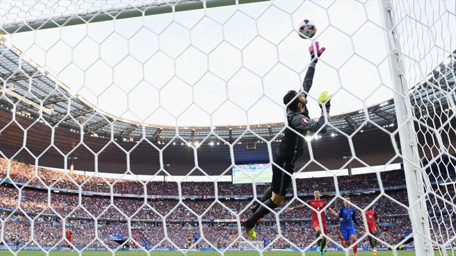 تساوی پرتغال و فرانسه در نیمه اول/ گزارش تصویری