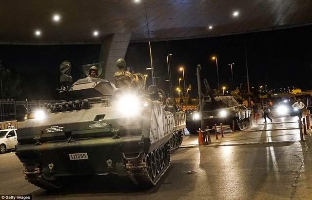 کودتای ناکام ارتش ترکیه/ گزارش تصویری