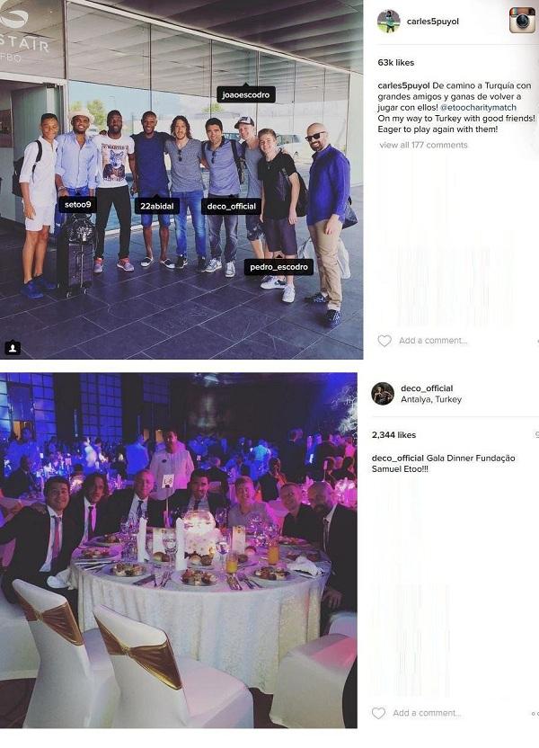 تصاویر/مسی از کودتای ترکیه نجات یافت !!