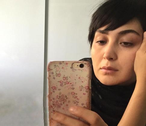 عکس بدون آرایش یک بازیگر زن دیگر