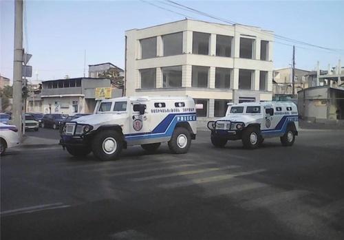 گروگانگیری در مرکز پلیس ارمنستان +عکس