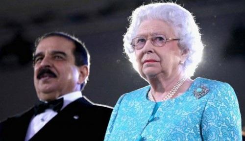 تصاویر/ راز ارتباط آل خلیفه با خاندان حاکم انگلستان