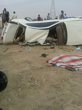 6 کشته در تصادف در خوزستان +عکس