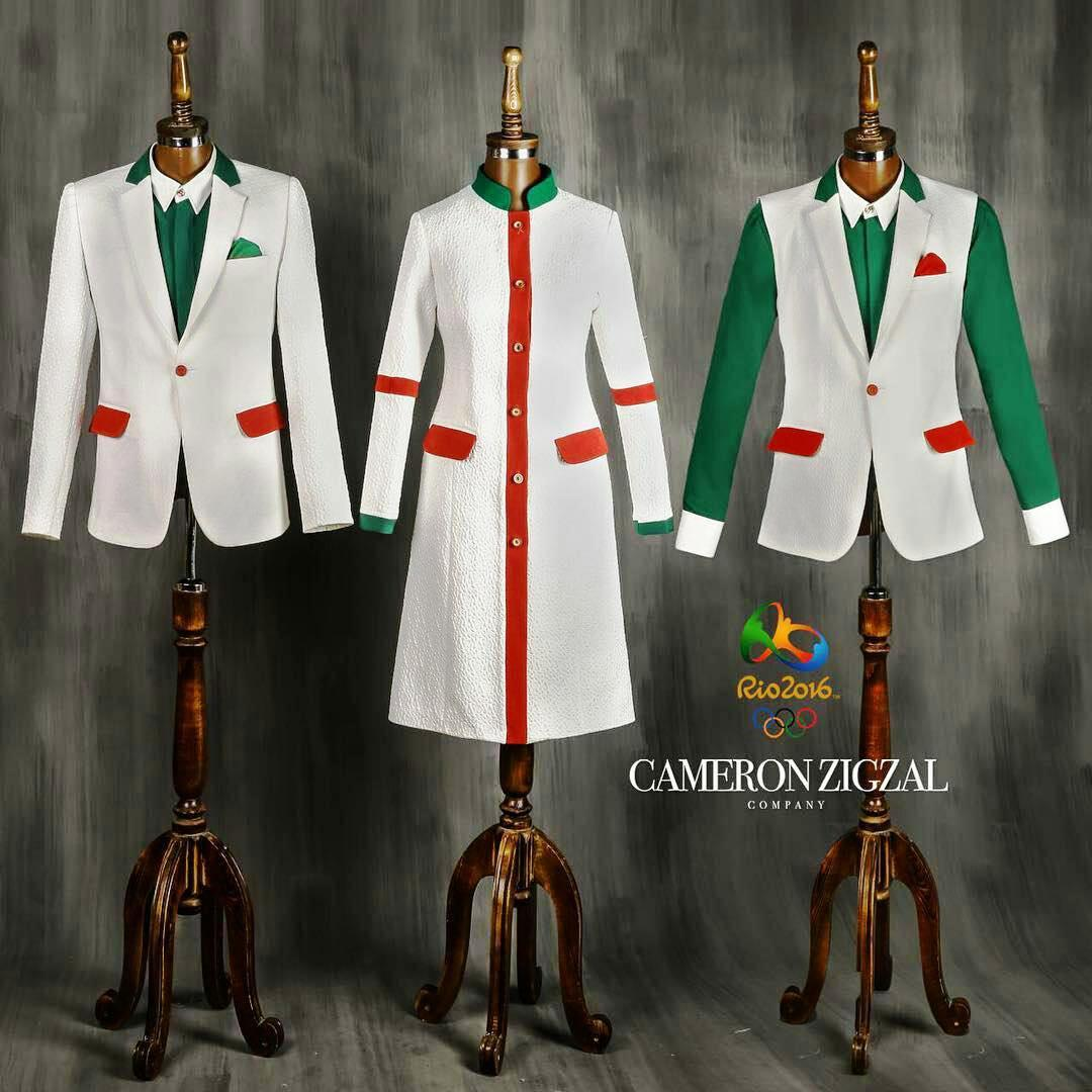 ادامه طرحهای تمسخرآمیز لباس المپیک /عکس