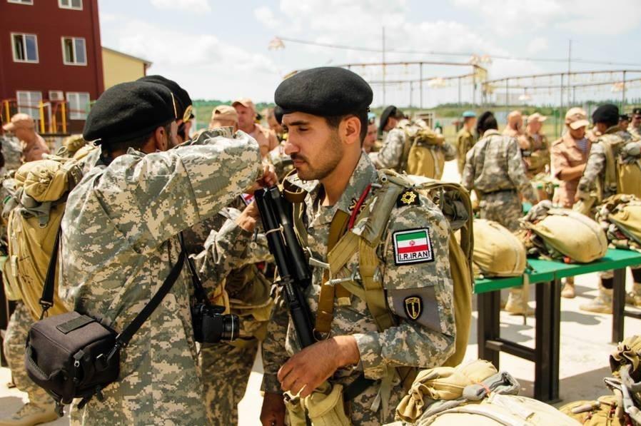 مبارزه تکاوران ارتش و سپاه ایران در روسیه+تصاویر
