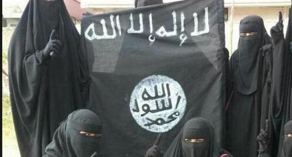 مدل عریان بریتانیایی، عروس جدید داعش/عکس