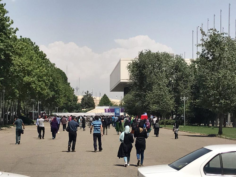 حضور باشکوه هواداران روحانی؛ برای ایران با آزادی
