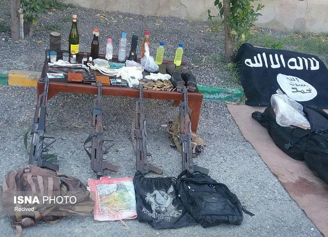 جزییات هلاکت 4 نفر از عناصر داعش در هرمزگان+ تصاویر