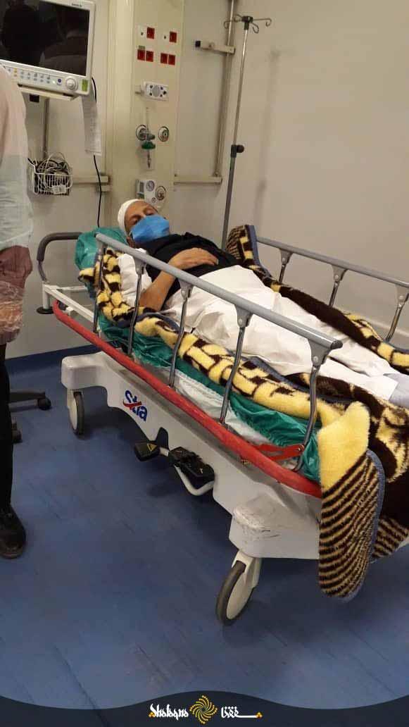 آخرین تصویر از حضرت آیت الله صانعی در بیمارستان